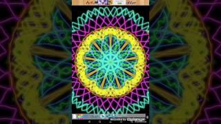 Magic drawing, kaleidoscope drawing. CRAZY PATTERNS!?.