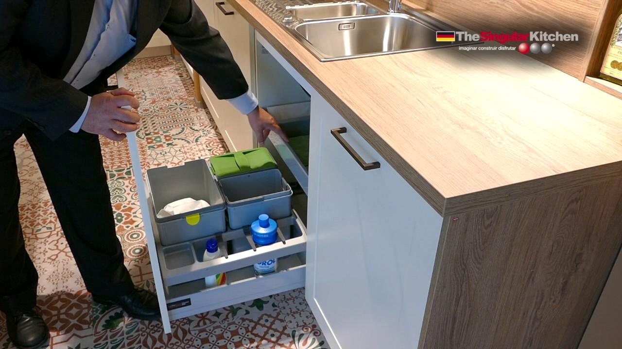 Muebles de cocina bajo fregadero youtube for Mueble fregadero cocina
