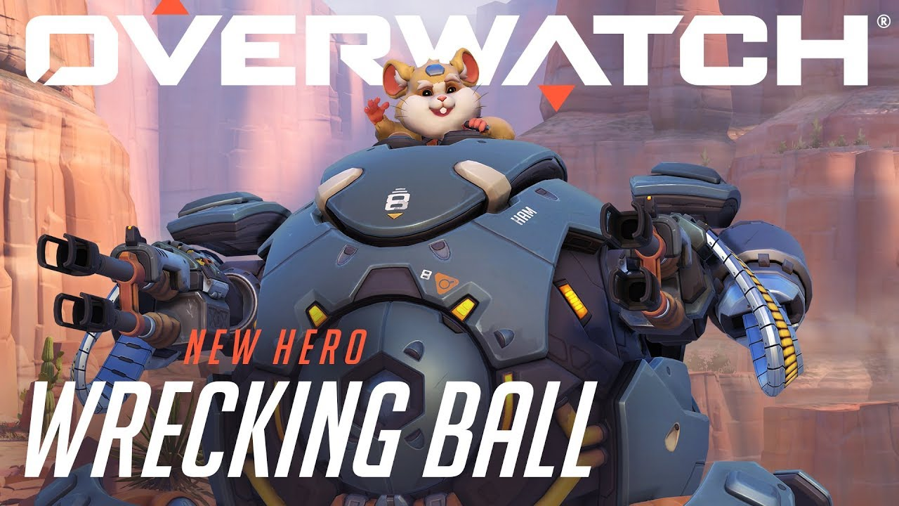 New Overwatch Hero | Wrecking Ball – Play Now!