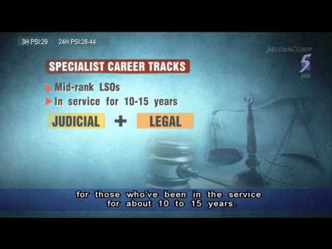 PM Lee: Legal Service Officers get specialist tracks for greater expertise in roles - 20Mar2014