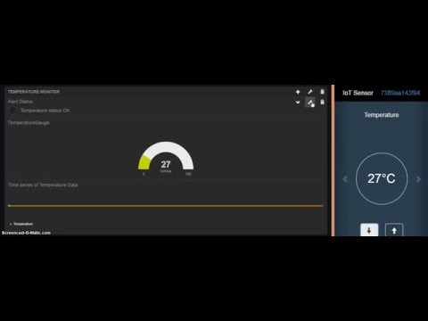 How to set up a dashboard for an IoT device managed via IBM BlueMix (NodeRED + FreeBoard.IO)