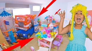 Toy room clean up S4:E51