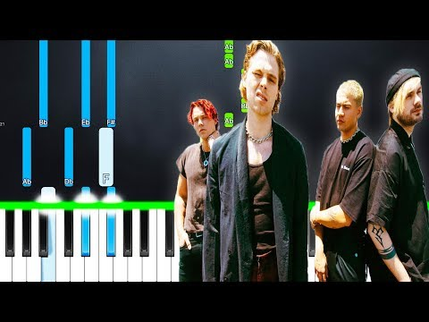 Repeat 5 Seconds Of Summer - Teeth (Piano Tutorial) by Piano