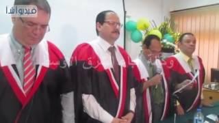 بالفيديو :موافقة اللجنة على منح أول  باحثة فلسطينية  درجة دكتوراة الفلسفة في التربية