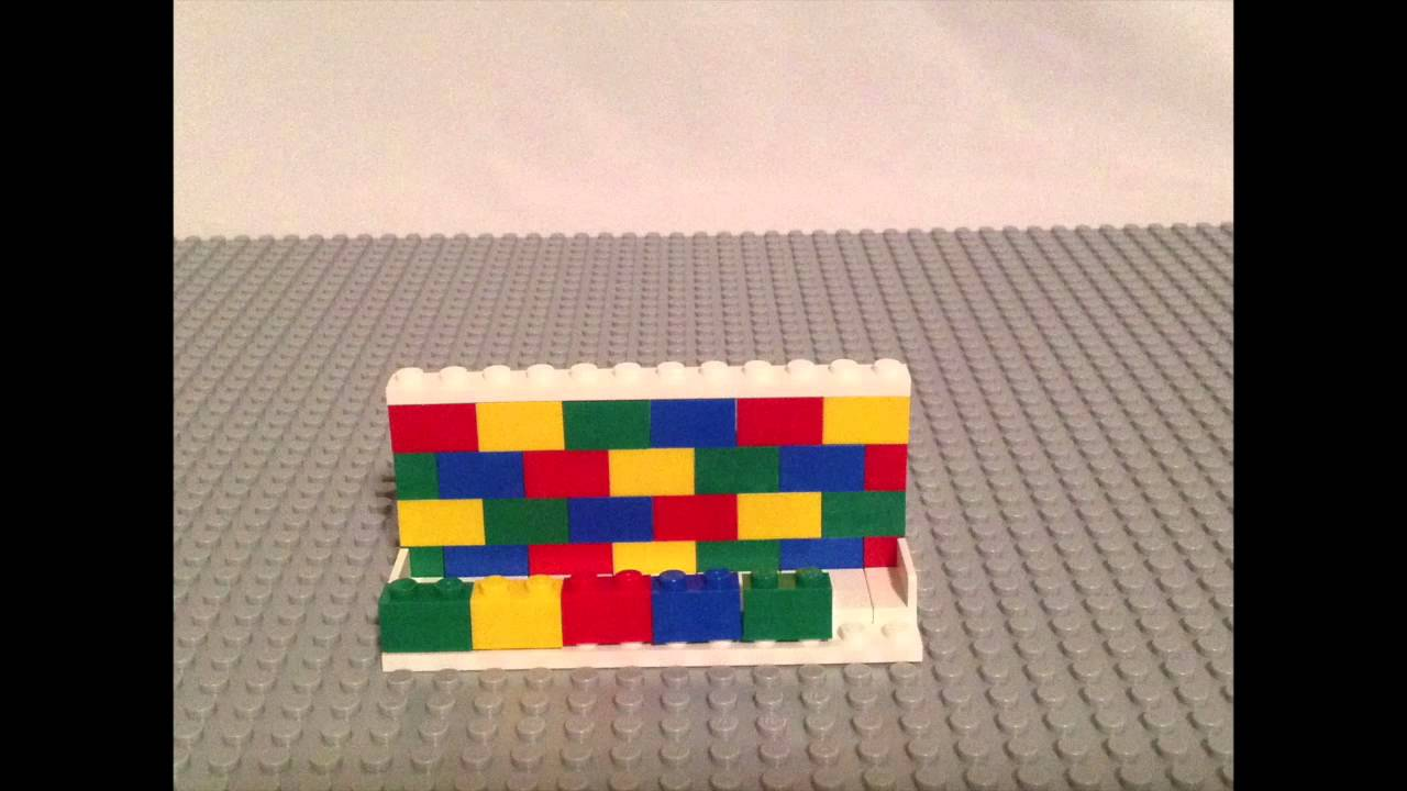 Lego Stop Motion Assembly Desk Business Card Holder 850425