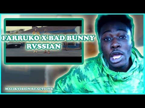 Bad Bunny REACTION! | Farruko, Bad Bunny, Rvssian - Krippy Kush |  2018 LATIN TRAP REACTION