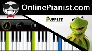 The Muppets - Muppet Show Theme Easy Piano Tutorial & Sheets