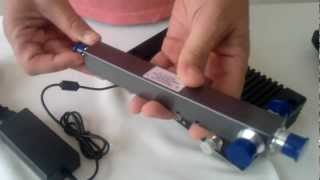 Repetidor Amplificador de sinal de Celular - GSM - 3G -  4G - distâncias de até 4km