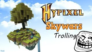 Hypixel skywars fake noob depth strider trolling lietuviškai!
