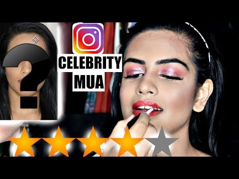I WENT TO THE BEST REVIEWED INSTAGRAM CELEBRITY MAKEUP ARTIST | Mama Earth Bye Blemishes Face Cream thumbnail