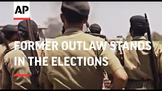 Repeat youtube video INDIA: FORMER OUTLAW STANDS IN THE ELECTIONS