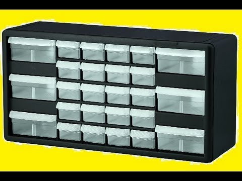 Lego Storage Container for Pick a Brick parts Akro-Mils 10126 26 Drawer - YouTube & Lego Storage Container for Pick a Brick parts Akro-Mils 10126 26 ...