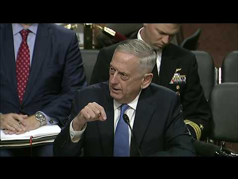 Mattis, Dunford Testify Before Senate Armed Services Committee, Part 2