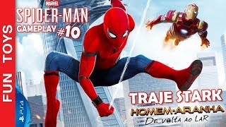 🕷 Marvel Spider-Man #10 - Mostramos Traje STARK e o PODER! Traje do DE VOLTA AO LAR e GUERRA CIVIL thumbnail