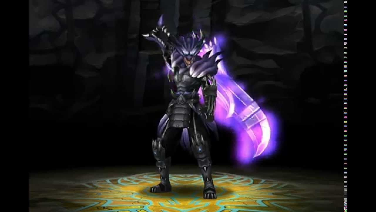 monster blade dark wolf god armor youtube