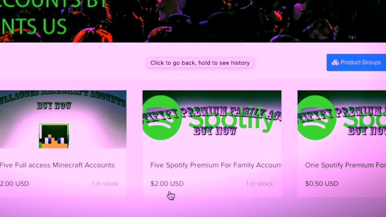 SHOP OPEN!! (shoppy gg/@KingAccounts) Premium Accounts