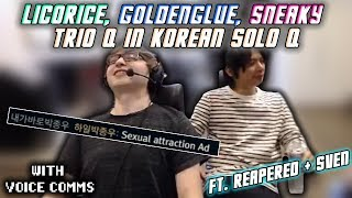 Sneaky, Licorice & Goldenglue TrioQ with Voice Comms (Best KR Bootcamp Moments #5)