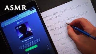 ASMR Podcast Launch! Handwriting Long URL | Drawing Thumbnail
