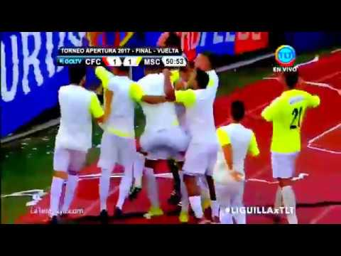 Caracas FC vs Monagas SC   gol de blondel