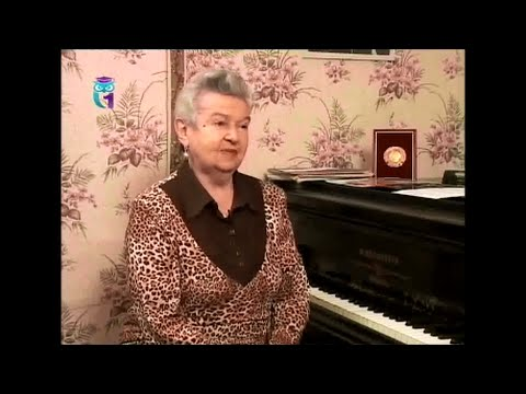 Людмила Лядова, композитор, пианистка, певица, народная артистка РСФСР