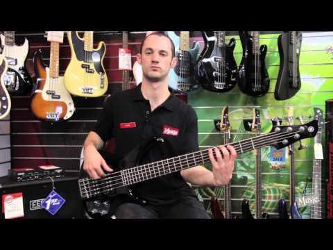 Yamaha TRBX305 5-String Bass Demo