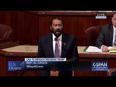 House Defeats Rep. Al Green (D) impeachment resolution against President Trump