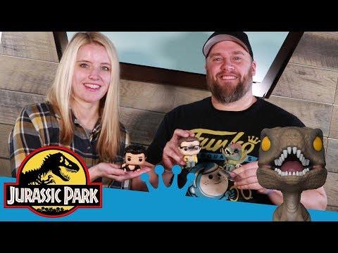 Jurassic Park Pop Unboxing