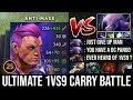 Incredible 1kGPM Rapier Anti-Mage Vs Non Stop Godlike Faceless Void Ultimate 1Vs9 Battle - Dota 2