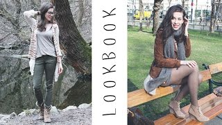 LOOKBOOK ☼ Frühling | ALLTAGS-OUTFITS