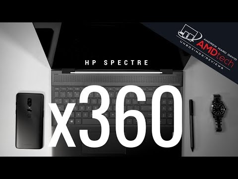 HP Spectre x360 15t (Kaby Lake G): Unboxing & Review