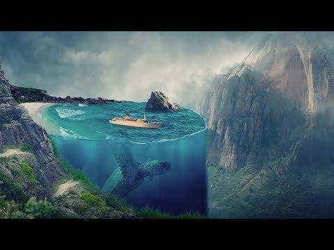 3d Creative Art Photoshop Tutorial   Underwater Effect thumbnail