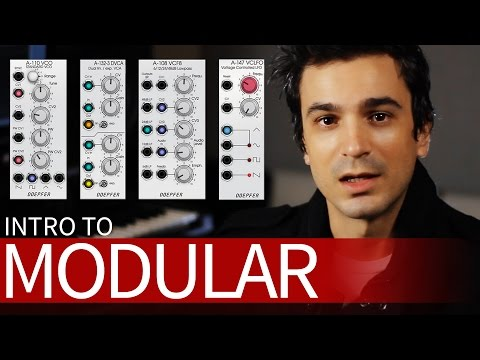 Modular Synth Basics! Learn how to PATCH. [Tutorial]