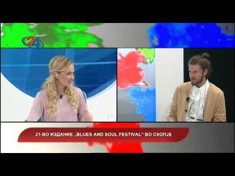"""Македонија денес - 21 - во издание на """"Blues and soul festival"""" во Скопје"""