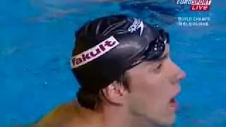 Men's 200m Individual Medley FINAL 2007 World Swimming Championships LOW QUALITY