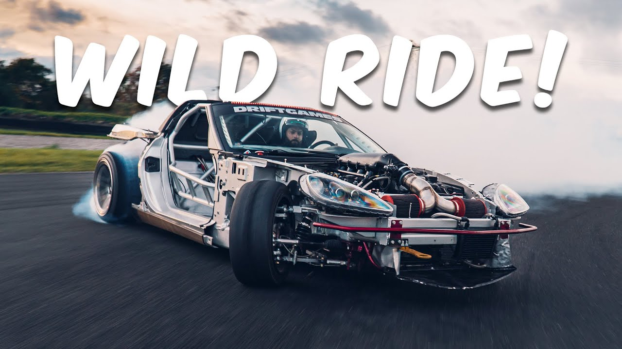 We turned our 500BHP+ drift cars into GO-KARTS!