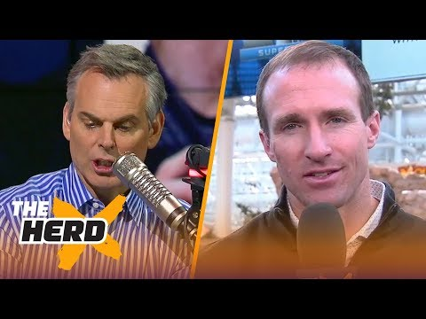 Drew Brees on his relationship with Sean Payton and playing until he's 45 | THE HERD
