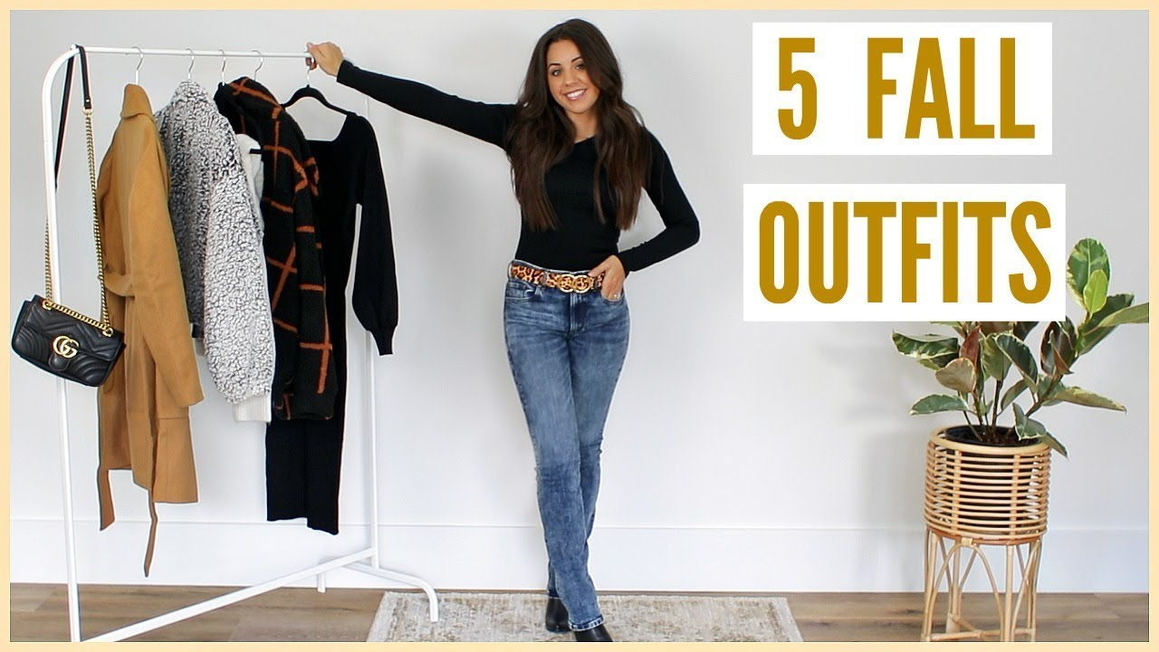 [VIDEO] - 5 FALL OUTFIT IDEAS! TRY-ON HAUL! 4