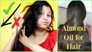 Benefits of Almond Oil for Hair / Fix Damaged Hair with Dabur Almond Hair oil |