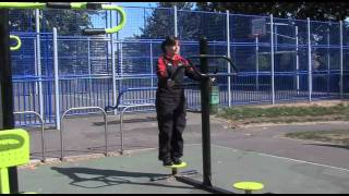 instruction video - outdoor gym equipment