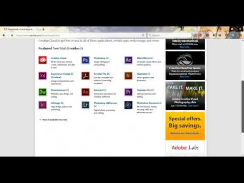 How To Download Adobe Master Collection Full File