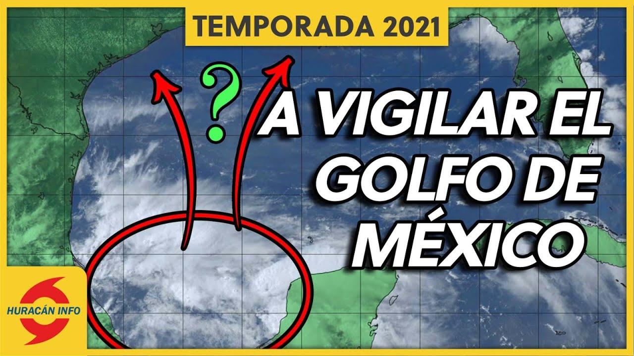 Riesgos de Inundaciones y Posibles Trayectorias. Mexico, Texas y Louisiana.