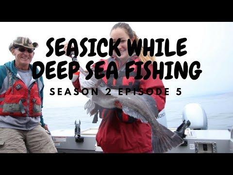 SEA SICK WHILE DEEP SEA FISHING FOR COD