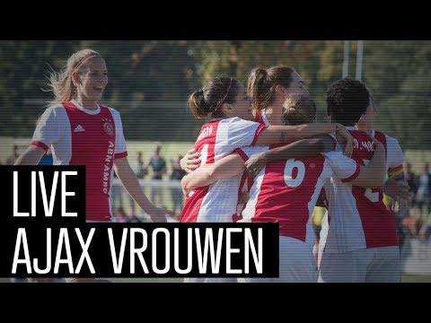 LIVE Ajax Vrouwen - PEC Zwolle