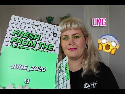Lush Kitchen Subscription box - June 2020 - YouTube