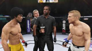UFC Dream Match - Bruce Lee VS TJ Dillashaw