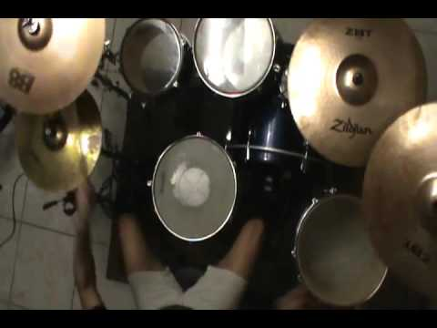 Alesana - 10. All Night Dance Parties In The Underground Palace (Drum Cover)
