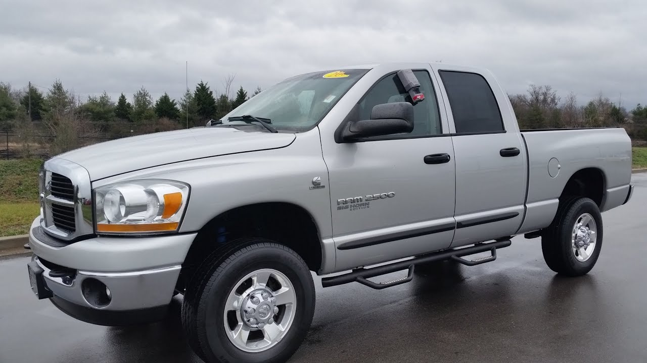 Sold 2006 Dodge Ram 2500 Quad Cab Big Horn Quad Cab Slt