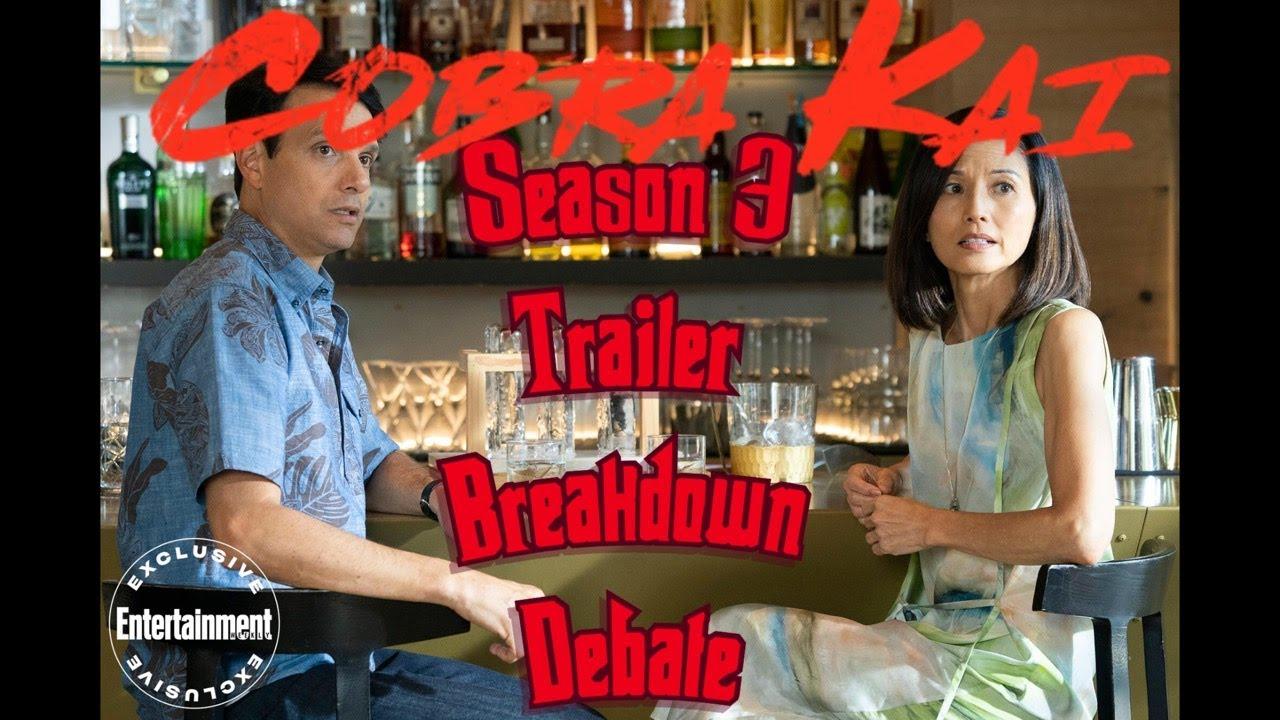Download COBRA KAI SEASON 3 TRAILER FULL BREAKDOWN DEBATE ! PREDICTIONS CONFIRMED !