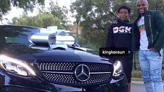 Floyd Mayweather Buys 16-Year-Old Son New Mercedes Benz Car