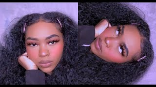 Black Girl Tries E Girl Makeup | Tik Tok E Girl Makeup⎮ ICONICLEXSY
